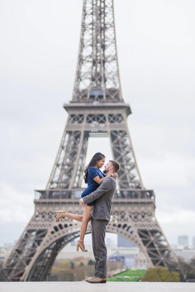 Paris Wedding Anniversary Photos