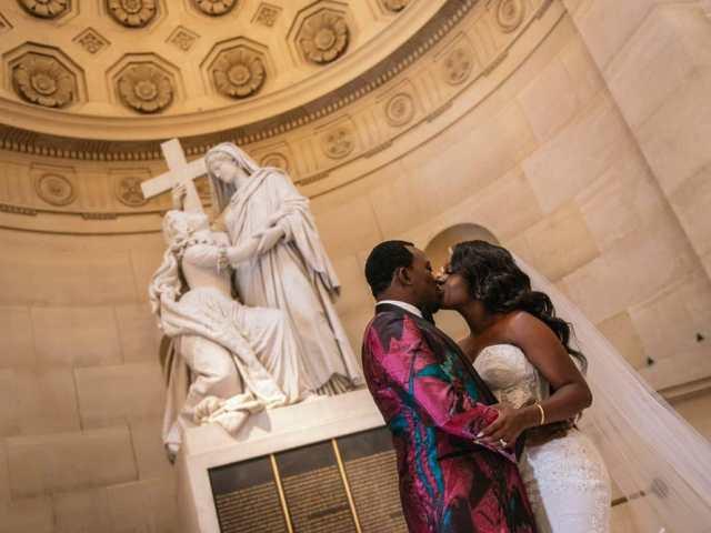 Plaza Athenee Paris Wedding – Chapelle Expiatoire ceremony -9