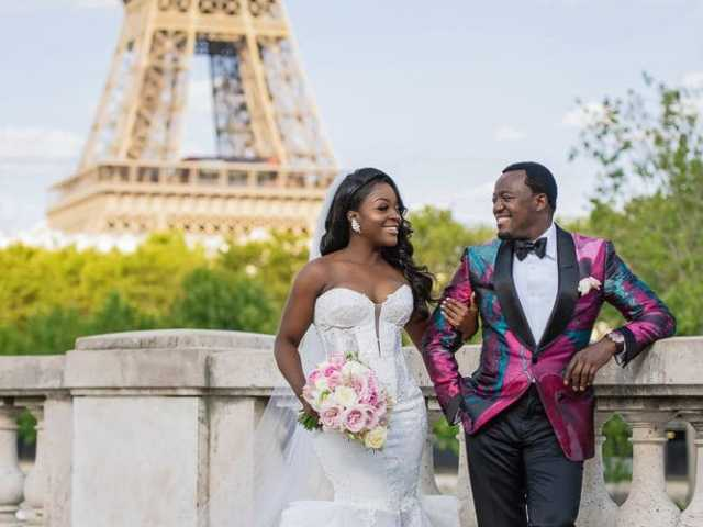 Plaza Athenee Paris Wedding – couples portraits Eiffel Tower-3