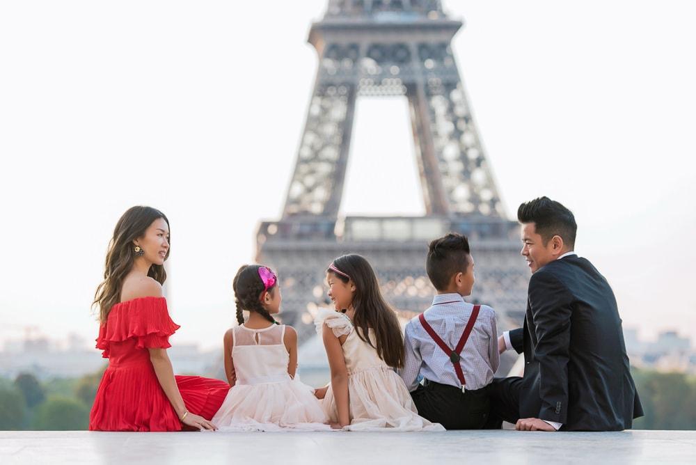 family portraits in paris