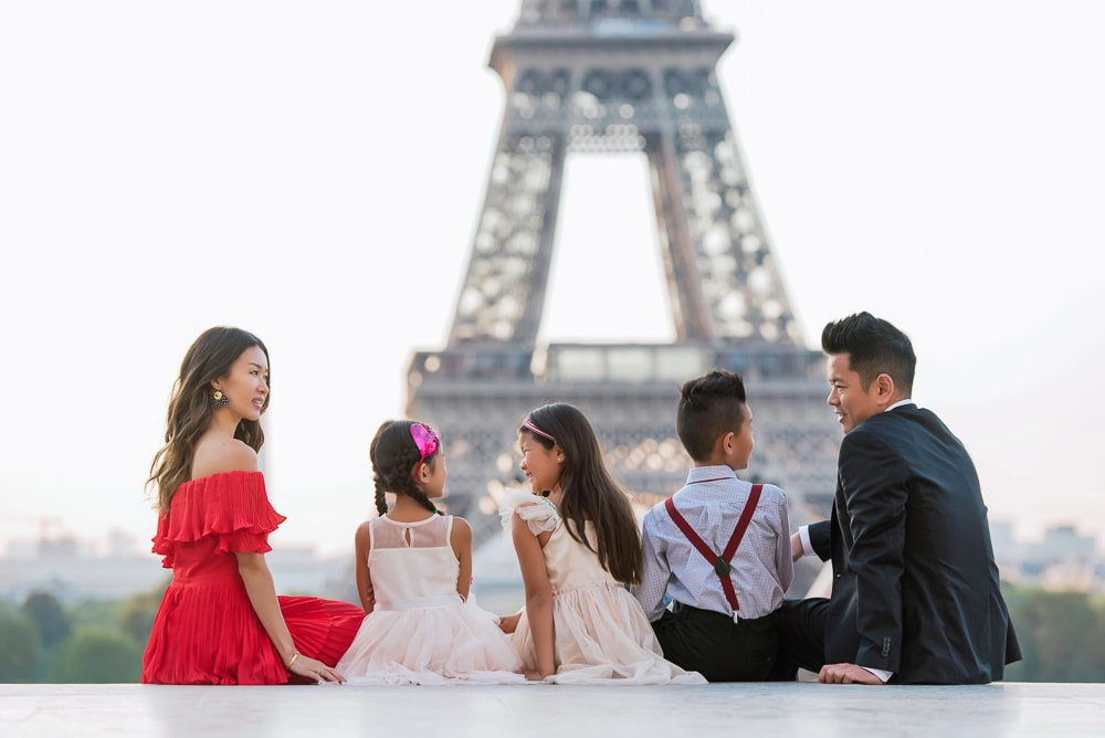 family portraits in paris