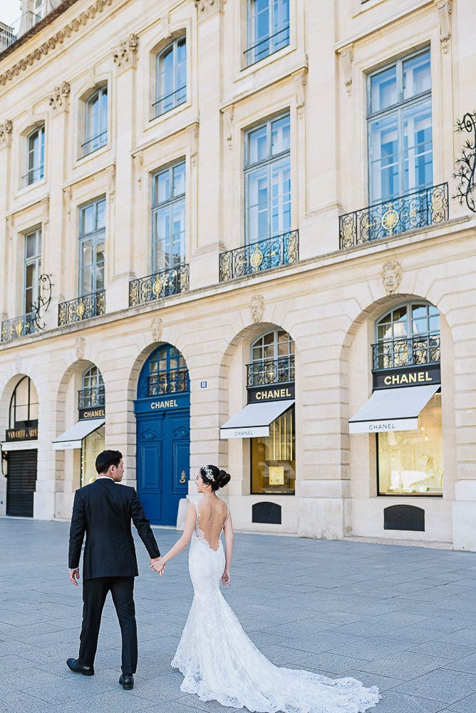 Paris Wedding Photographer – Place Vendome