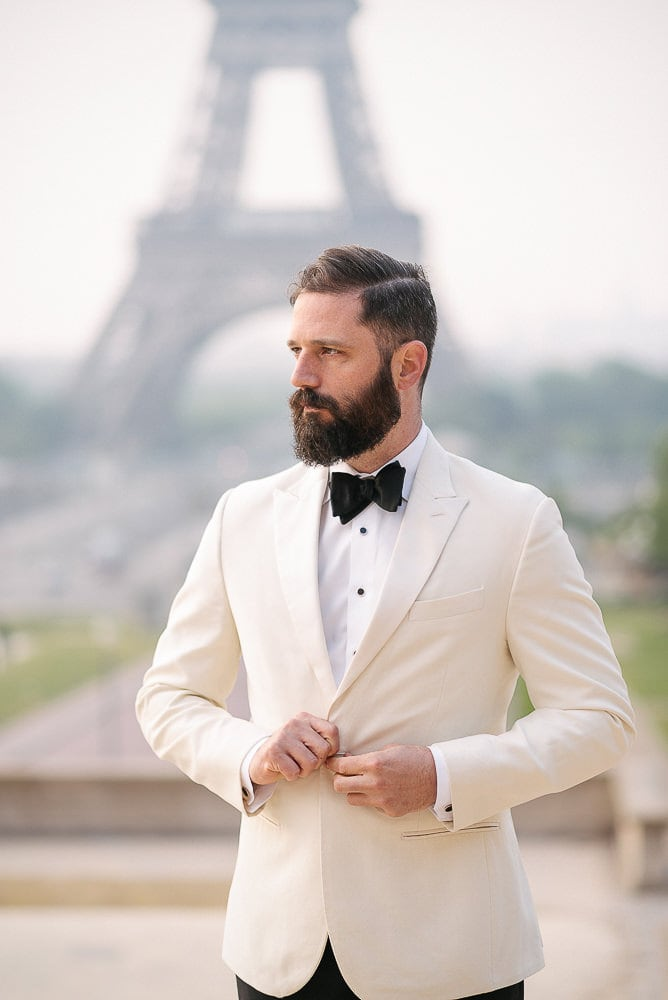Paris Wedding Photography by the Eiffel Tower