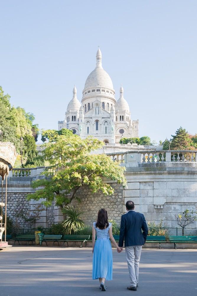 Montmartre Paris pre wedding