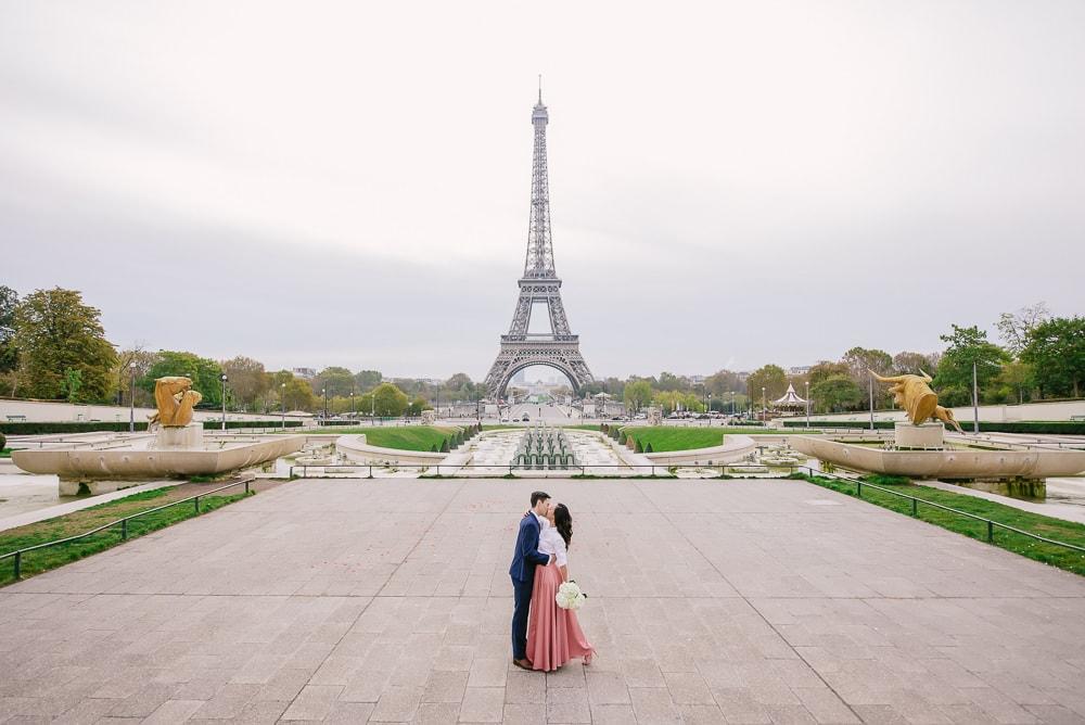 Best proposal photographer in Paris