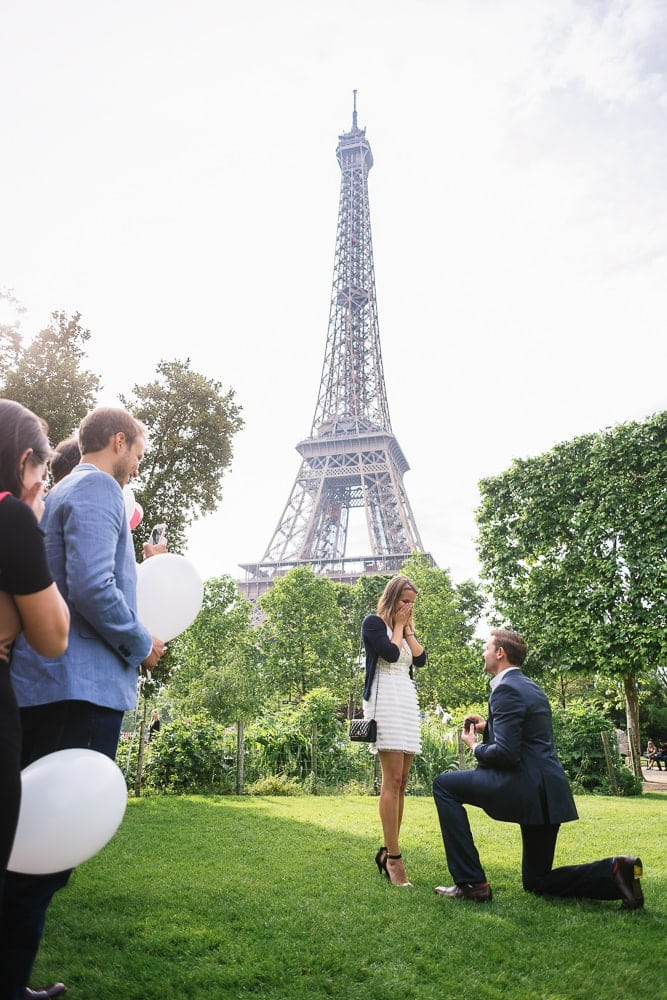 Champ de Mars - proposal location for Eiffel Tower