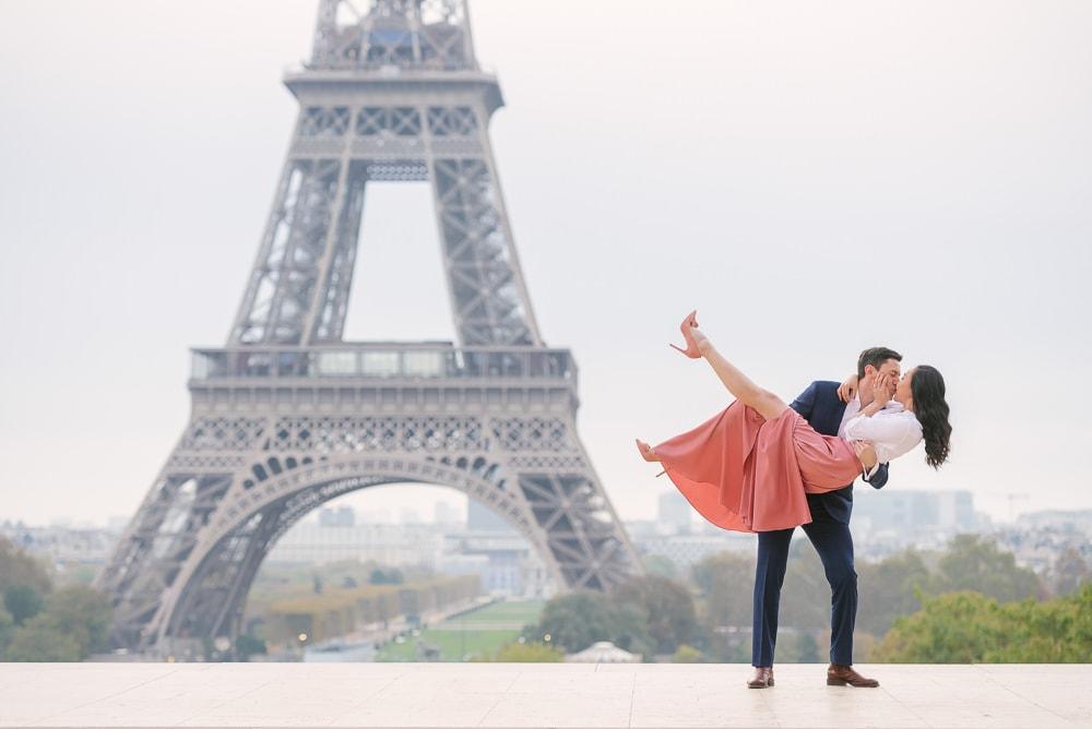 Paris engagement photographer The Paris Photographer
