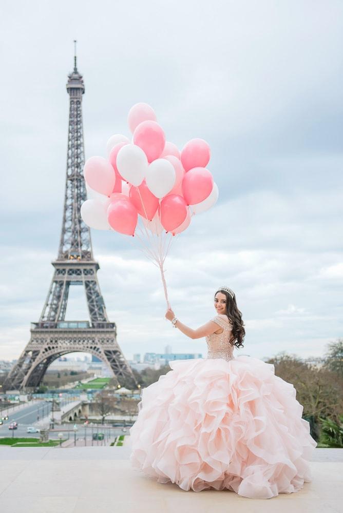 Sweet 15 quinceanera in Paris