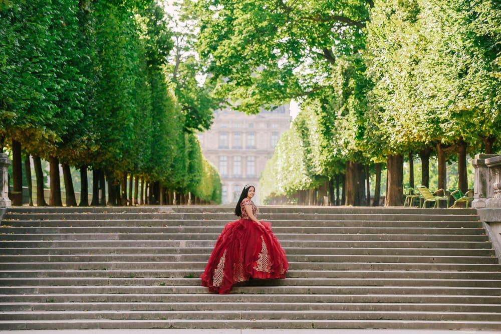 quinceanera in paris - The Paris Photographer