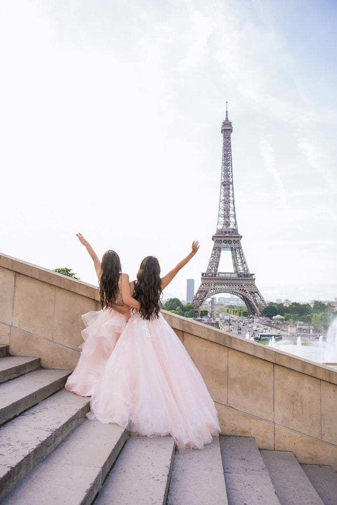 Quinceanera Paris Photo Shoot