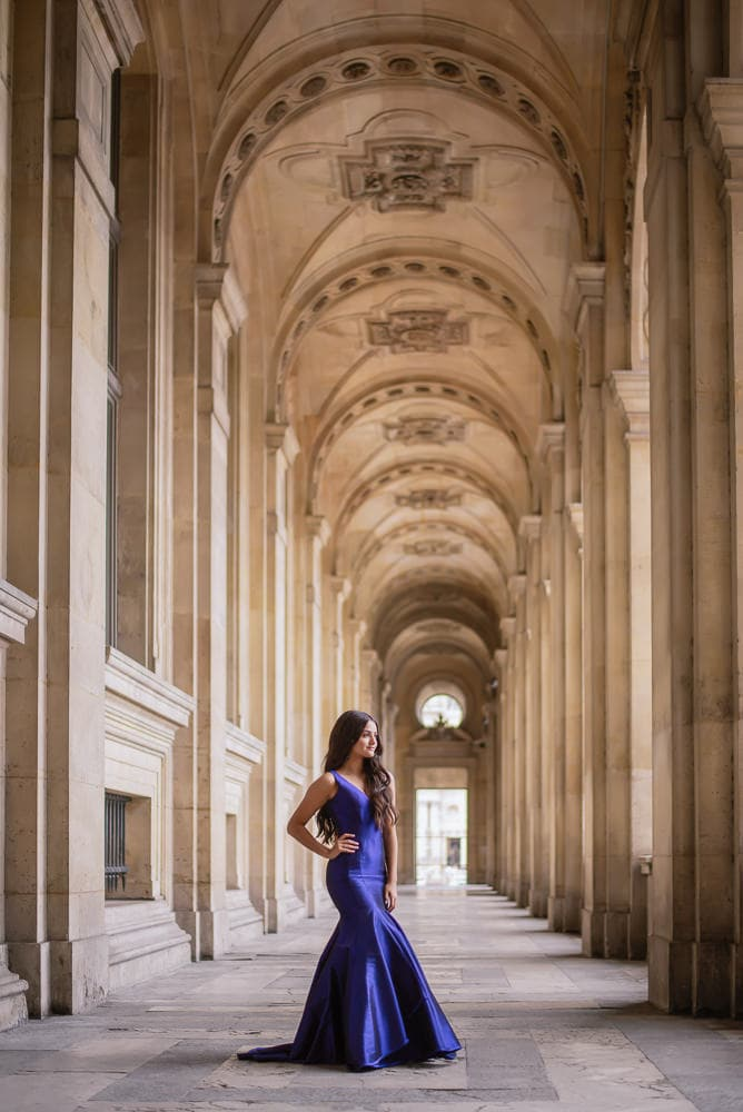 quinceanera picture ideas - family travel to Paris