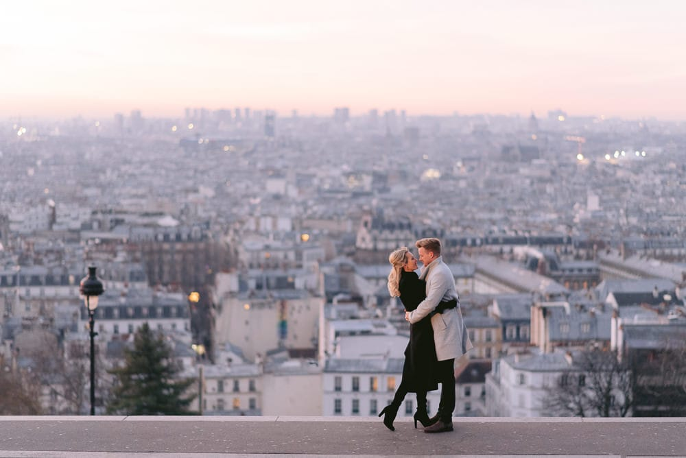 Couples photoshoot in Paris 2020