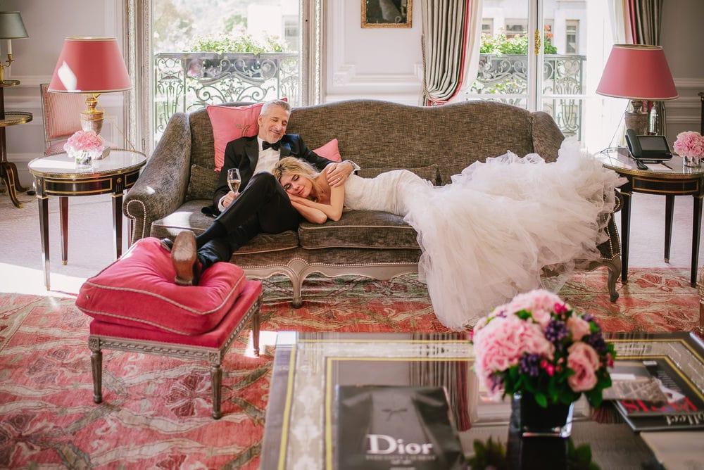 Wedding photographer in Paris 2020 Plaza Athenee