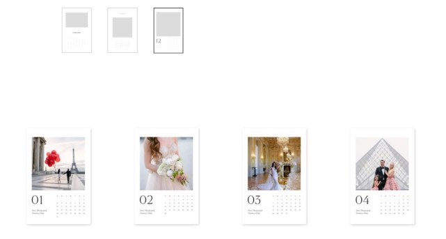 how to choose the calendar design for a gift
