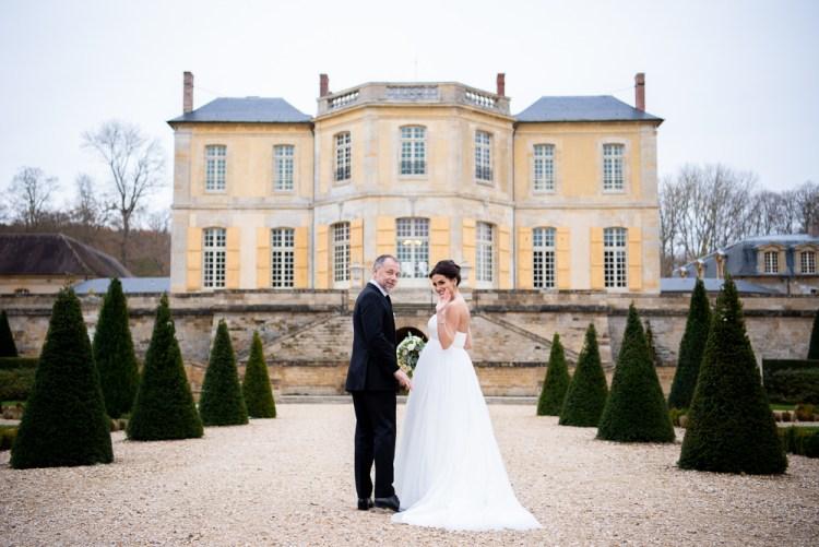 Chateau de Villette Small wedding chateau near Paris