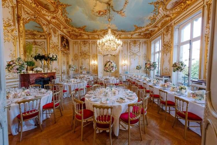 Paris wedding venues - Parisian hotels or Parisian palaces