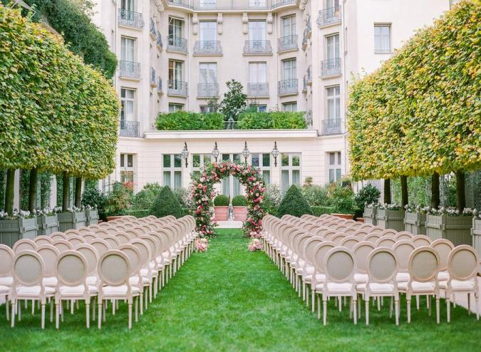 The Ritz Paris wedding venue