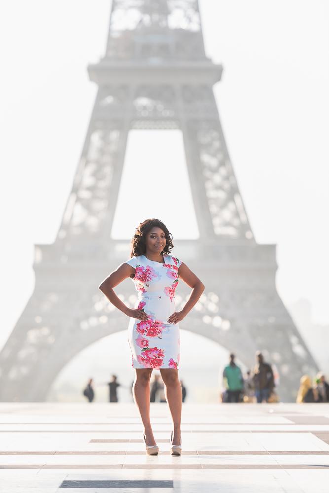 Graduation photos in Paris 1