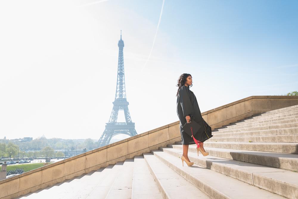 Graduation photos in Paris 11