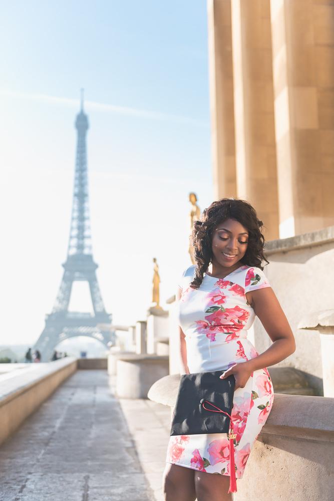 Graduation photos in Paris 12