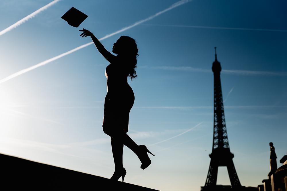 Graduation photos in Paris 2