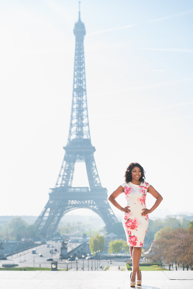 Graduation photos in Paris 5