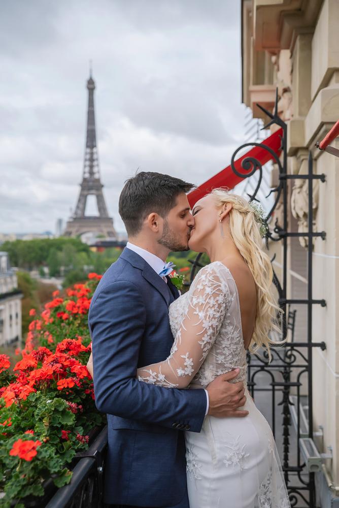 Paris France elopement 106