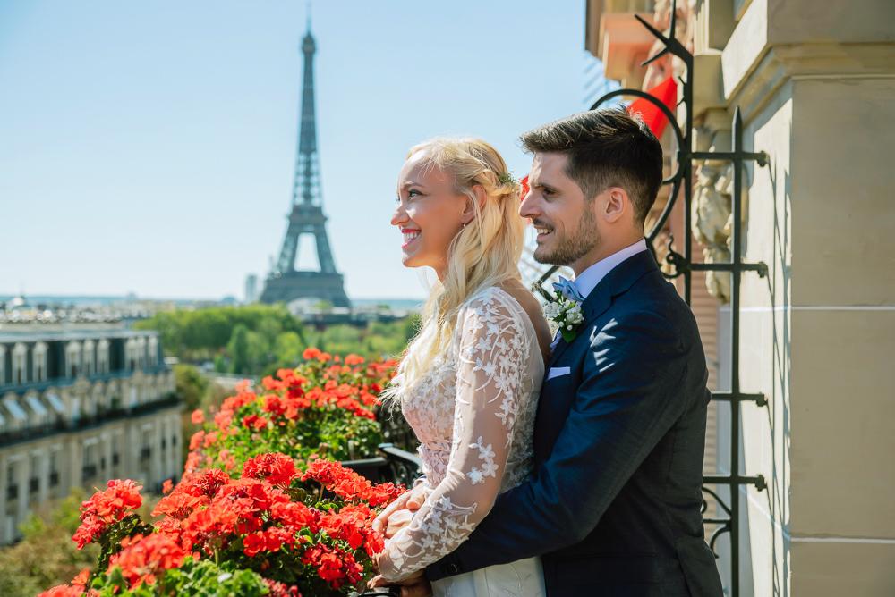 Paris France elopement 2