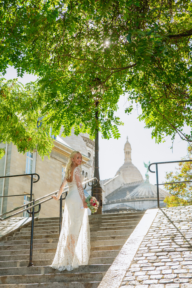 Paris France elopement 30