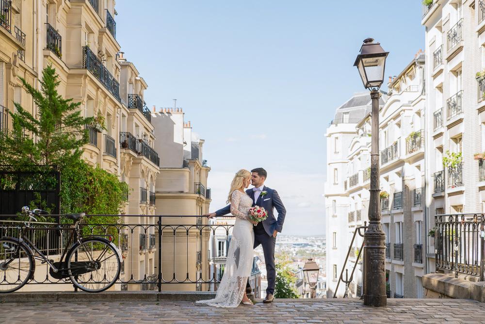 Paris France elopement 35