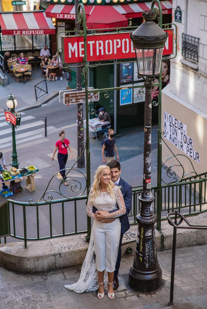 Paris France elopement 45