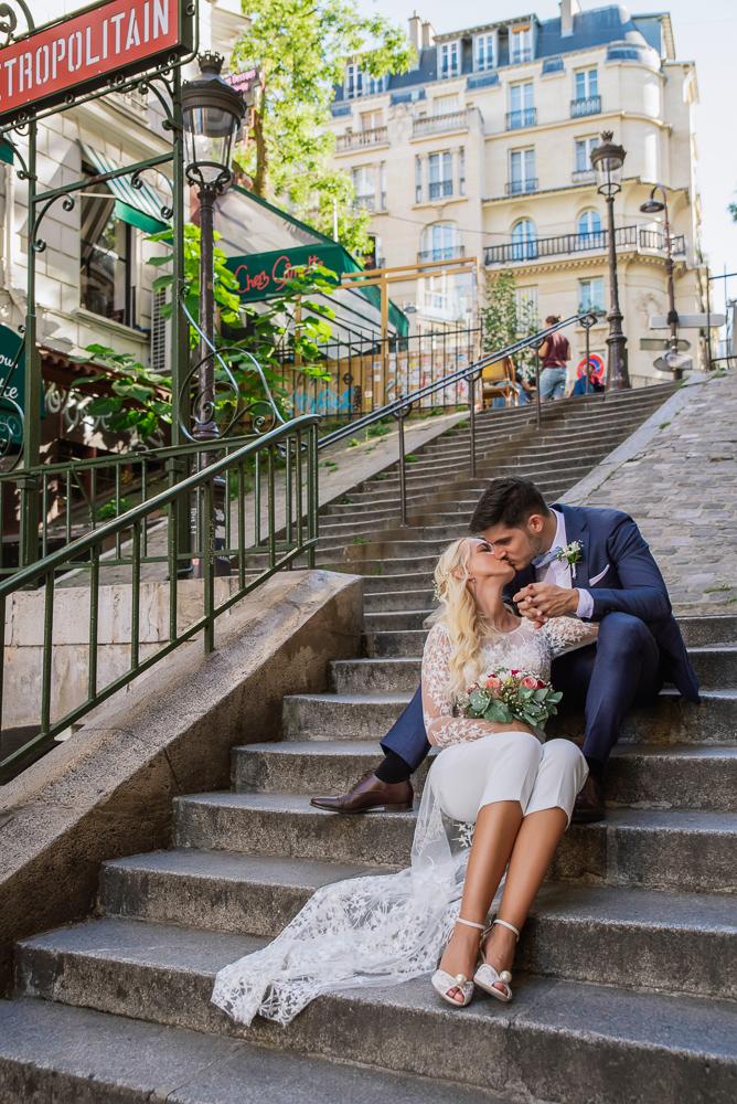 Paris France elopement 52