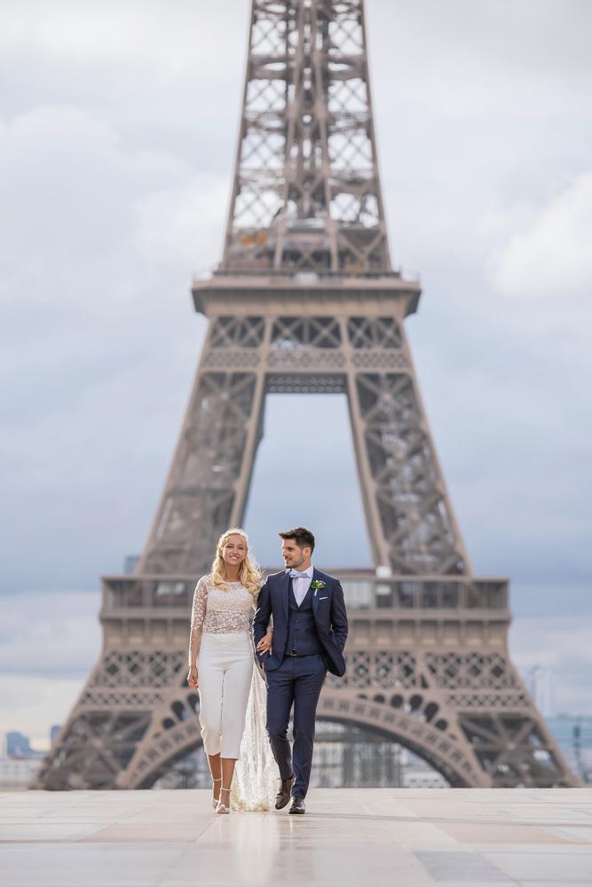 Paris France elopement 60