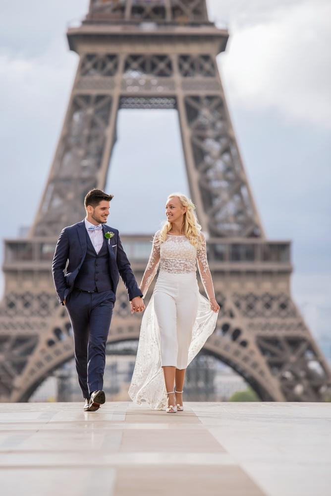 Paris France elopement 63