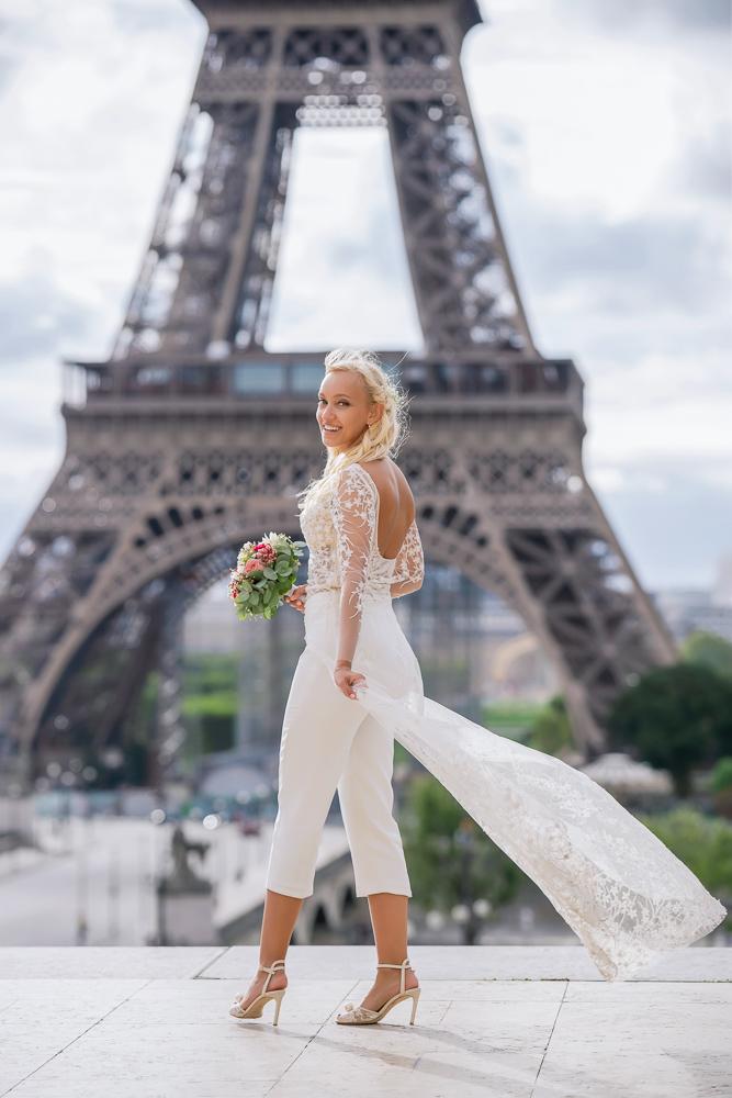 Paris France elopement 79