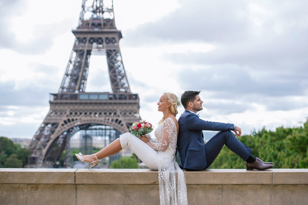 Paris France elopement 86