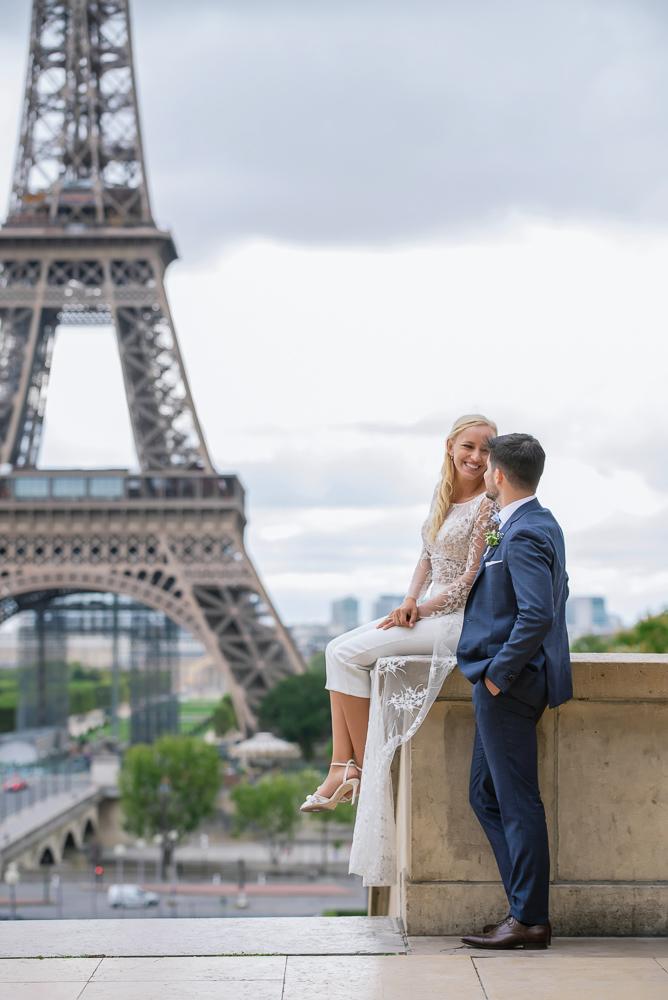 Paris France elopement 93