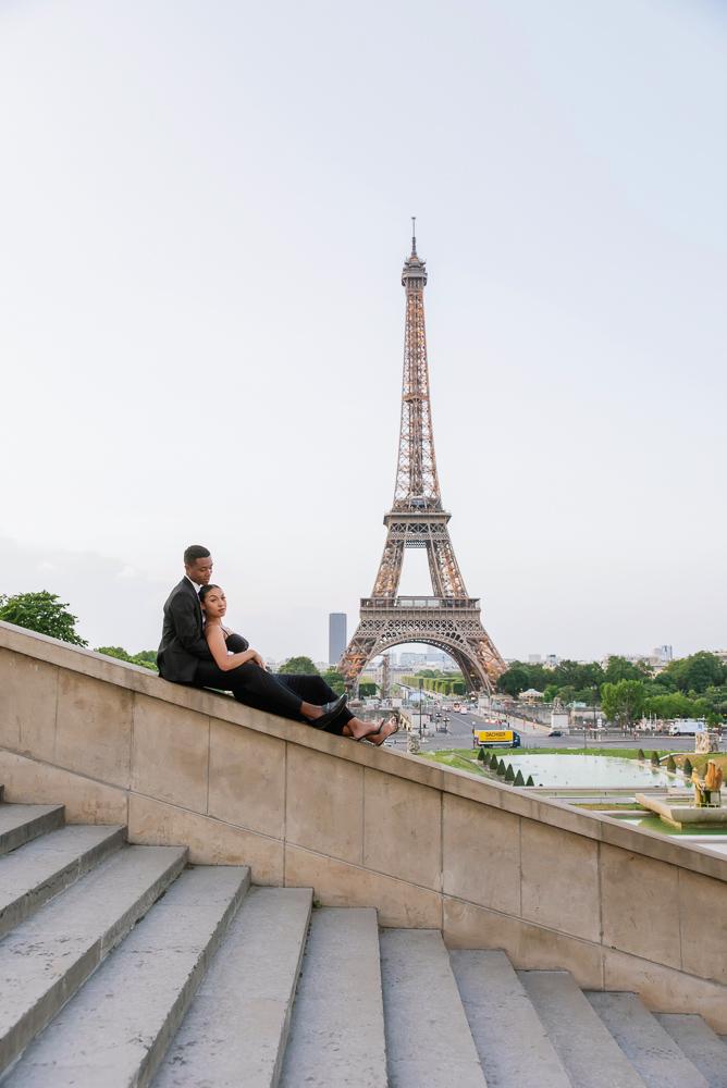 Proposal in Paris Eiffel Tower 15