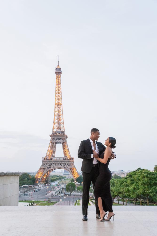 Proposal in Paris Eiffel Tower 2