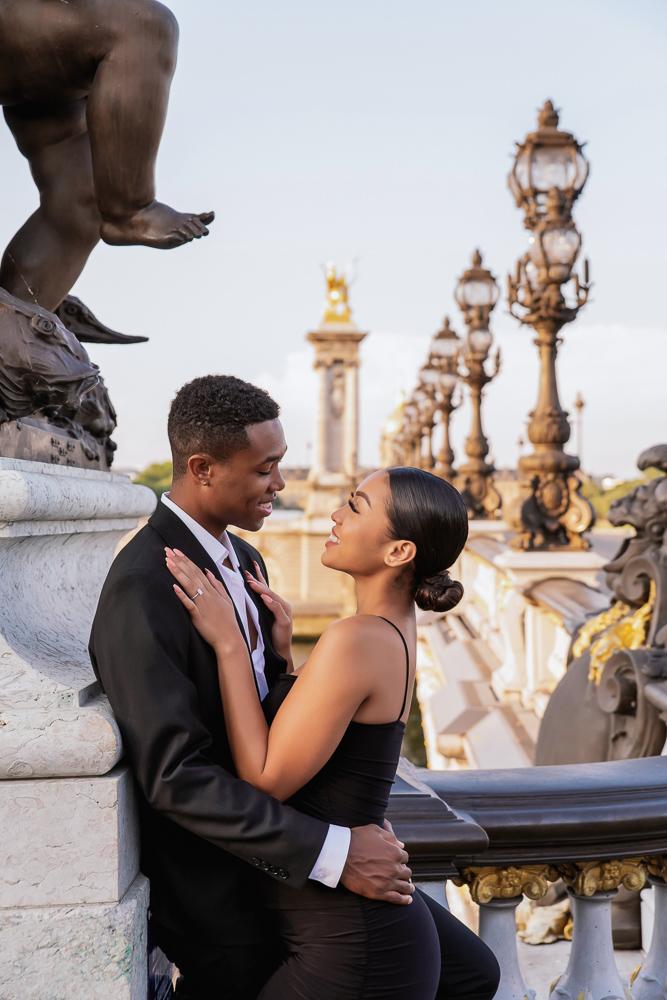 Proposal in Paris Eiffel Tower 25
