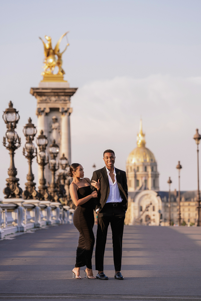Proposal in Paris Eiffel Tower 28