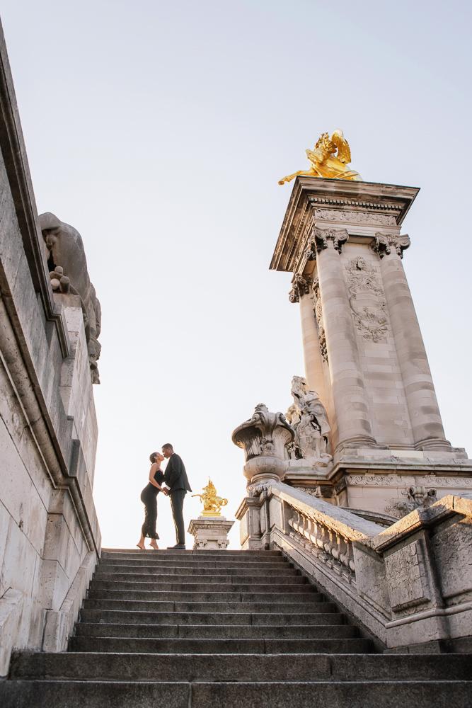 Proposal in Paris Eiffel Tower 30