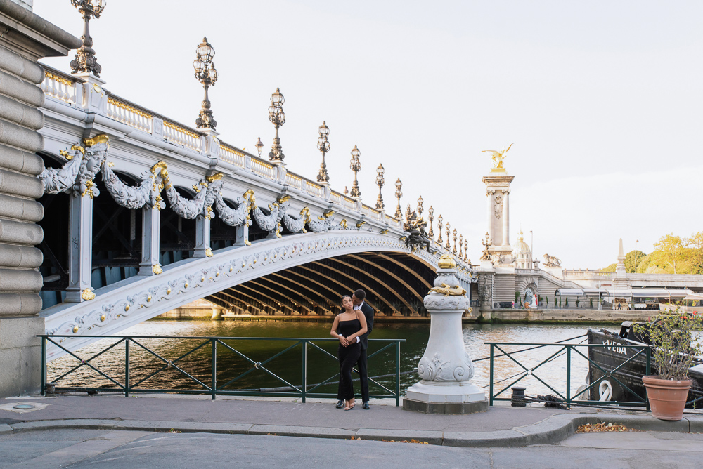 Proposal in Paris Eiffel Tower 31