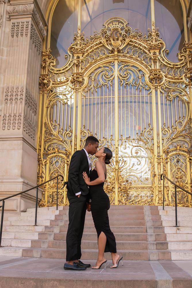 Proposal in Paris Eiffel Tower 35