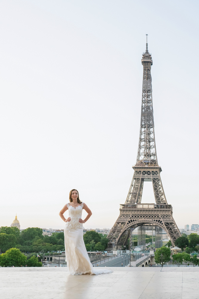Wedding photoshoot in Paris by Pierre 11