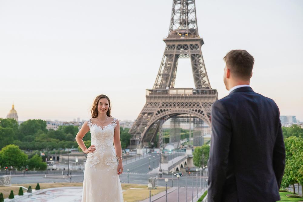 Wedding photoshoot in Paris by Pierre 12
