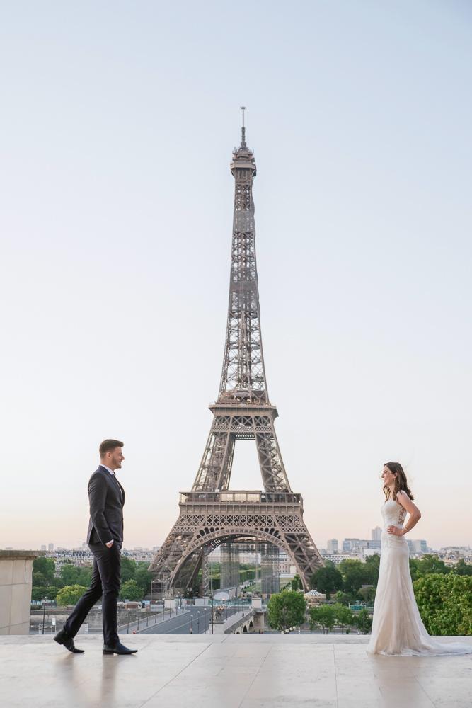 Wedding photoshoot in Paris by Pierre 15