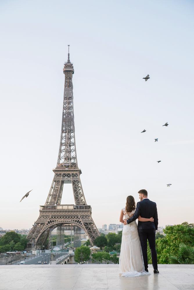 Wedding photoshoot in Paris by Pierre 18