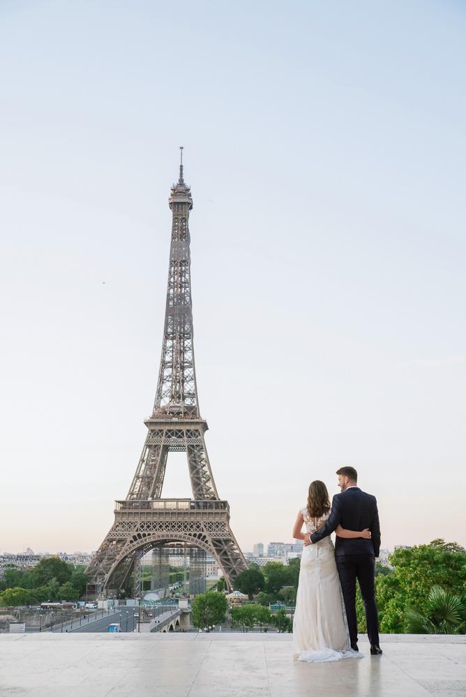 Wedding photoshoot in Paris by Pierre 19