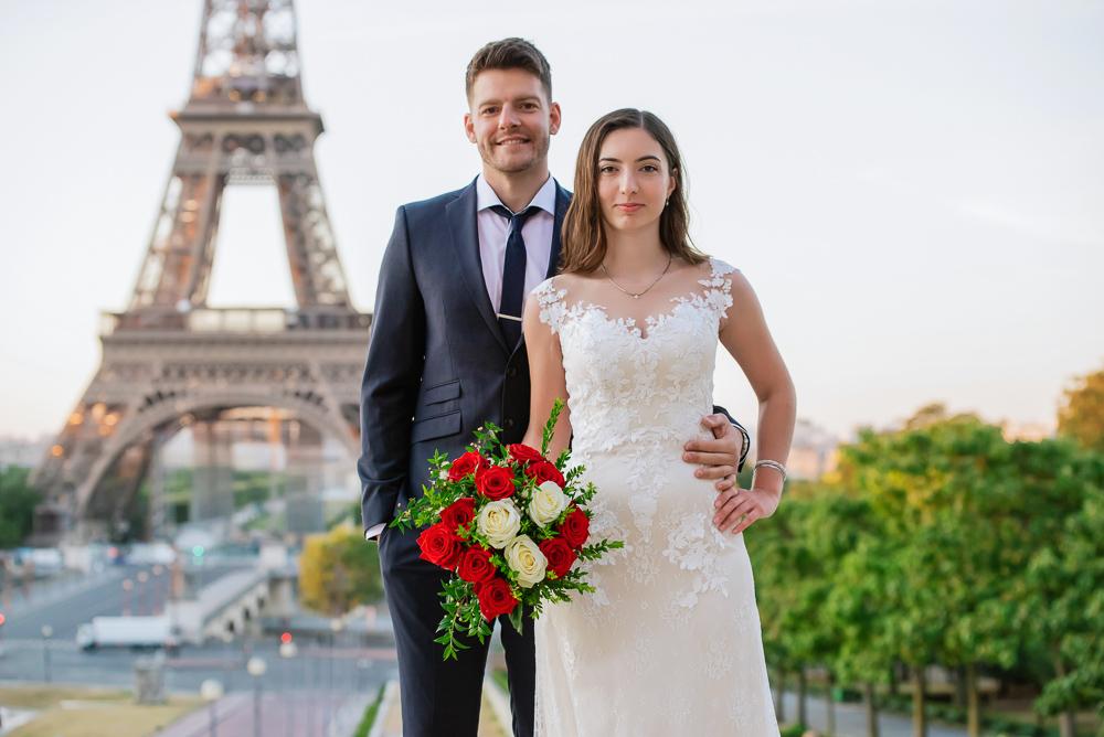 Wedding photoshoot in Paris by Pierre 24